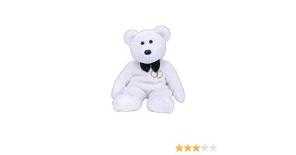 the GROOM Bear TY BEANIE Baby MR