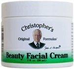Formules beauté crème pour le visage de Christopher, 2 once