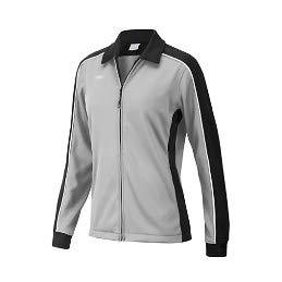 Speedo 7201482 Women's Streamline Warm Up Jacket, Black/Grey - L
