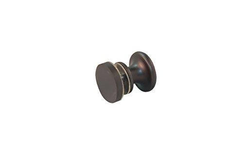 Glass Shower Sliding Door Single Knob Handle Heavy Duty Brass Material (Oil Rubbed (Brass Sliding Shower Door)