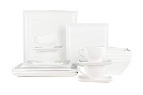 Cosy & Trendy 3413120 Julietta Porcelain Dinner Set, 20 Pieces