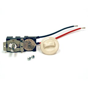 Cadet Thermostat Heater (Cadet Com-Pak Plus/Max/Twin Series Almond Integral Single-Pole 22 Amp Thermostat Kit)
