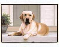 Fiddler s Elbow Yellow Lab Porch Doormat by Online Discount Mart