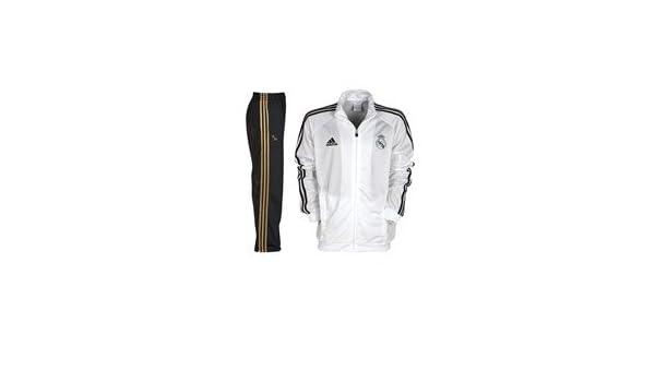 adidas Chandal PES Real Madrid -niño-: Amazon.es: Deportes y aire ...