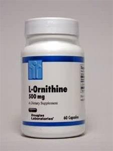L-Ornithine 500mg 60 caps [Santé et Beauté]