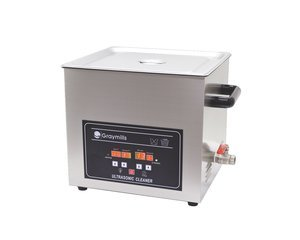 .8 Gallon 115 Volt Silver 304 SS Ultrasonic Aqueous Table Top Parts (Aqueous Parts Cleaner)