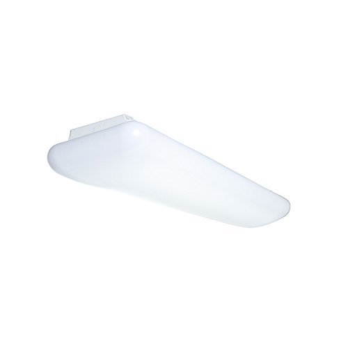 LED Cloud / Puff Light Fixture | 17 x 48 inches 8400 Lumen | 4x18W LED 4000K Lamps Included | Perfect LED for Offices, Kitchens, and Work Spaces | Durable LED Fixture | Comfortable Level Lighting Cloud Fixture