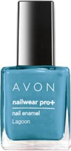 Avon Nailwear Nail Enamel - Avon Color Nail Enamel Nailwear Pro Plus 8 ml(Lagoon)