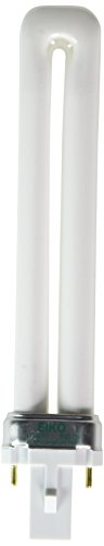 EIKO DT9/65 Duo-Tube 6500K G23 Base Compact Fluorescent H...