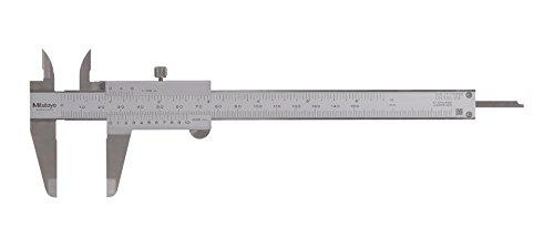 Mitutoyo 530-108 Vernier Caliper, Stainless Steel, 0-200mm Range, +/-0.05mm Accuracy, 0.05mm Resolution - Mitutoyo Wood Caliper