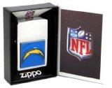 Large Emblem NFL Zippo Lighter - San Diego Chargers