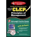 CLEP Principles of Management (05) by PhD, Dr John R Ogilvie - Cooper, Susan T [Paperback (2005)]