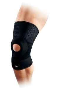 8f7b833685 Image Unavailable. Image not available for. Colour: Nike Open Patella Knee  Sleeve ...