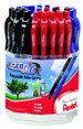 Pentel EnerGel Xtm Liquid Gel Pen Metal Tip 3 Dozen Display (BL107-3)