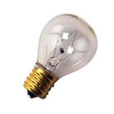 Base Clear Miniature Light Bulb (HC Lighting - S11 High Intensity 25W 120-130V Lava Lamp Light Bulb E17 Intermediate Base Clear (25/PK))