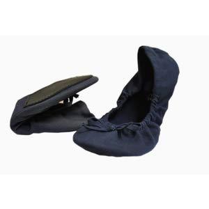 new styles bf605 1e514 Dr Scholl Party Feet Pocket Ballerine 37/38 Blu: Amazon.it ...