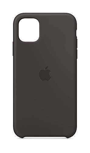 Apple Silicone Case (for iPhone 11) - Black