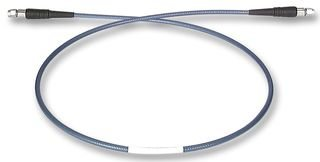 HUBER & SUHNER ST-18/SMAM/SMAM/48 CABLE, COAXIAL, SMA PLUG, 48'', BLU