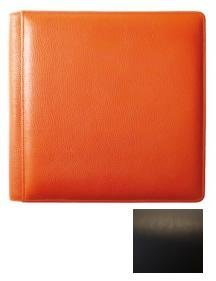 Santa FE Black Grain Leather #105 Album with 5-at-a-time Pages by Raika - 4x6 ()