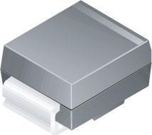 SMBJ12CA - TVS Diode, SMBJ Series, Bidirectional, 12 V, 19.9 V, DO-214AA, 2 Pins (SMBJ12CA) (Pack of 100)