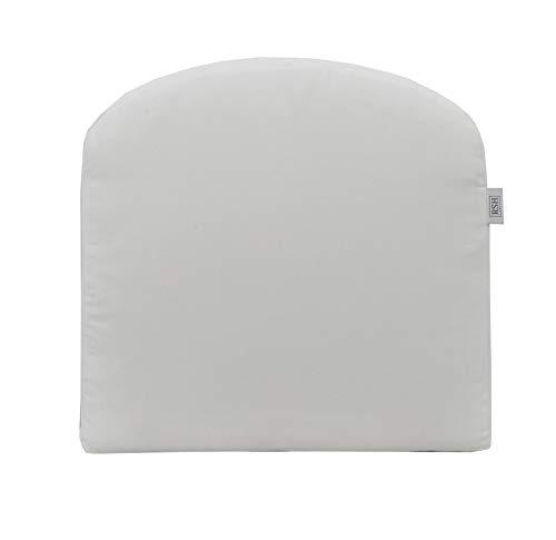 RSH Décor Indoor ~ Outdoor Sunbrella Canvas White Foam Contour U-Shape Chair Cushion ~ - Dyed 100% Acrylic Solution