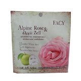 Product review for New Facy Alpine Rose & Apple Zell Whitening Tissue Mask (from Alpine Rose and apple stem cell) wholesales x 3 packs...