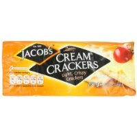 Jacob's Cream Crackers. 200g Pack (Pack of 6) have a problem Contact 24 hour service Thank You