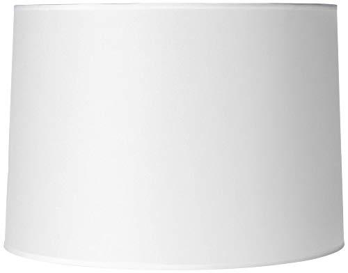 Hardback White Drum Paper Lamp Shade 15x16x11 (Spider) - Brentwood