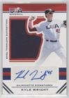 Kyle Wright #/199 (Baseball Card) 2017 Panini USA Basebal...