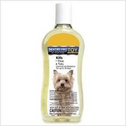 Sentry Pro Toy & Small Breed Flea & Tick Dog Shampoo, 12 fl. (Flea Dog Toy)