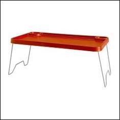 IKEA bandeja/bandeja para desayuno, plegable - rojo