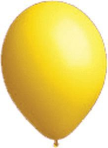 17'' Seal-Sealing Valved Yellow Latex Outdoor Balloons (5 Cases of 864/case) by Single Source Party Supplies