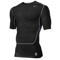 Nike Pro Combat Compression Shirt Black Short Sleeve Size XXL