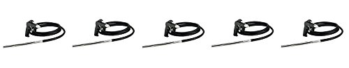 Sand Blaster with 10 Foot Hose, Sand Blast Gun, and Wrench - Siphon Feed (Campbell Hausfeld AT122601AV) (5-(Pack))