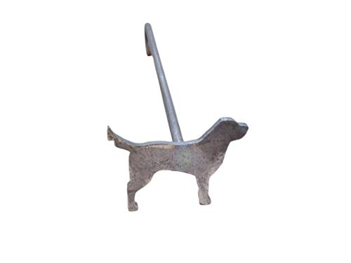 The Leather Guy Branding Iron Standing Steak Brand Dog 3 1/8