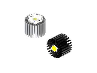 ModuLED Nano 2.2 C/W Black Anodized Zhaga LED Cooler (70 x 50 mm), Pack of 10 (MODULED Nano 7050-B)
