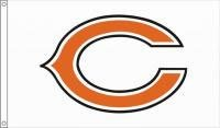 Nfl Side 2 Banner (3' x 5' Premium NFL Flag - Chicago Bears)