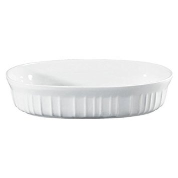 CORNINGWARE French White 15-oz Oval Casserole by CorningWare