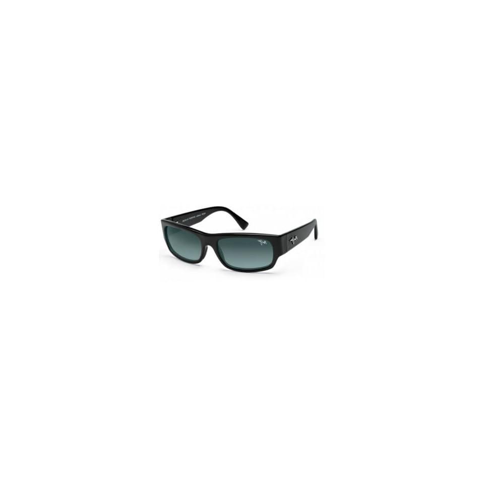 Maui Jim Sunglasses Lava Flow / Frame Gloss Black Lens