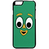 Gumby Face - Gumby Face Case / Color Black Rubber / Device iPhone 6 Plus/6s Plus