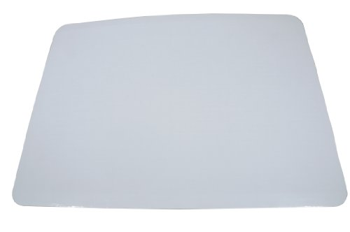 "Southern Champion Tray 1153 Corrugated Greaseproof Single Wall Cake Pad, Half Sheet, 19"" L x 14"" W, Bright White (Case of 50)"