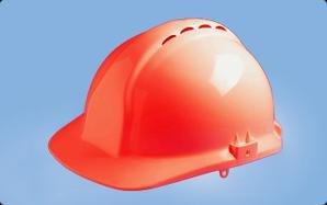 Centurion S03ERF Classic - Casco de seguridad, visera completa, color rojo