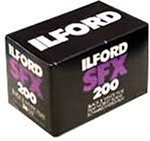 Ilford SFX 200 Infrared 135-36 Black & White Print Film (35mm 36-exp ISO-200) 2-Pack (Black And White Film 35mm 200)