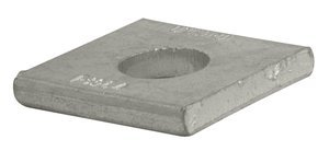 3/4'' 304SS Square Strut Washer, (Pack of 10) by Fastenal Approved Vendor
