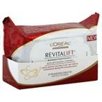 L'Oreal Revitalift Radiant Smoothing Wet Cleansing Towelettes 30CT (Pack of 9)