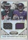 Buck Allen; Nelson Agholor #/799 (Football Card) 2015 Panini Certified - New Generation Dual Jerseys #NG-USC