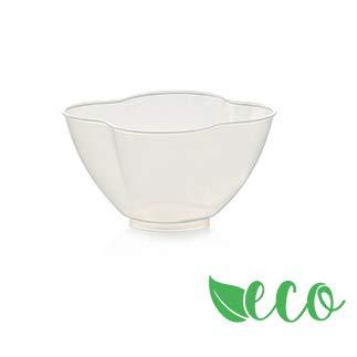 50 copas nuovola plástico Transparente biodegradables Uni en13432 ...