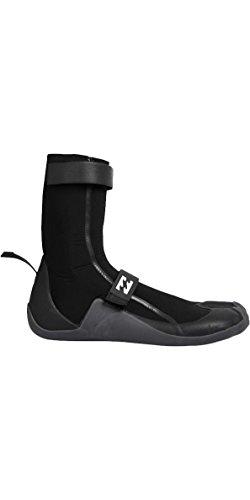 Billabong Revolution 5MM Split Toe Neoprene Boots Black - Unisex with Thermal Insulation