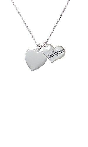 Heart Locket - Daughter Heart Necklace