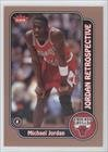 Michael Jordan (Basketball Card) 2008-09 Fleer - Michael Jordan Retrospective #MJ-1